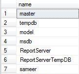 list-all-database-names-sql-server