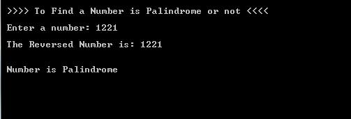 C#.Net Number Palindrome