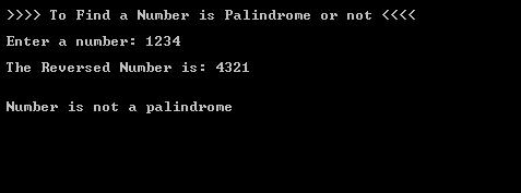 C#.Net Number Palindrome_Output_2