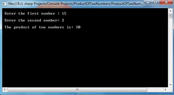 Product-Of-Two-Numbers