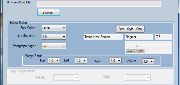 Software to modify Word Files – Free download